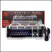 Kit Teclado Gamer + Mouse com fio KP-2054