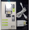 Carregador EXCELENTE Usb 3.1 A Para Micro USB Kimaster KT603X Branco