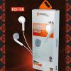 EXCELENTE Fones De Ouvido PMCELL Extra Bass Slim Stereo EARPHONE F0-14