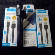 Excelentes Cabos Carregadores Lehmox LE-368 Micro USB(V8)